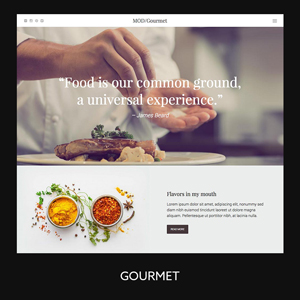 Modules Gourmet Demo