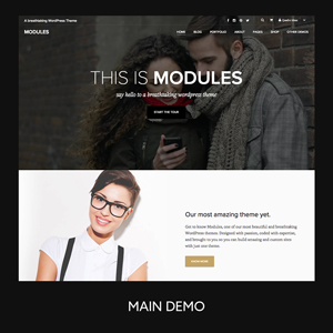 Modules | Creative Multi-Purpose WordPress Theme
