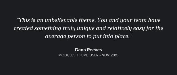 Modules WordPress Theme Quote