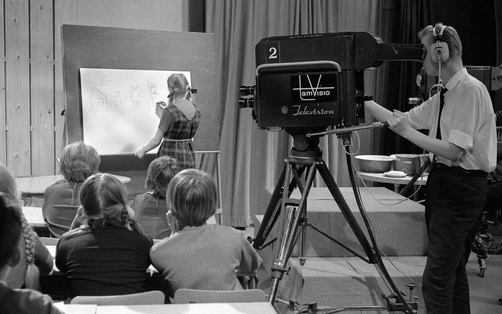 New Old Stock - Filming a television program (1965)