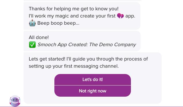 Smooch First App