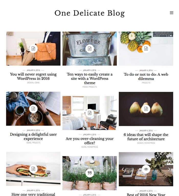 Delicate Blog