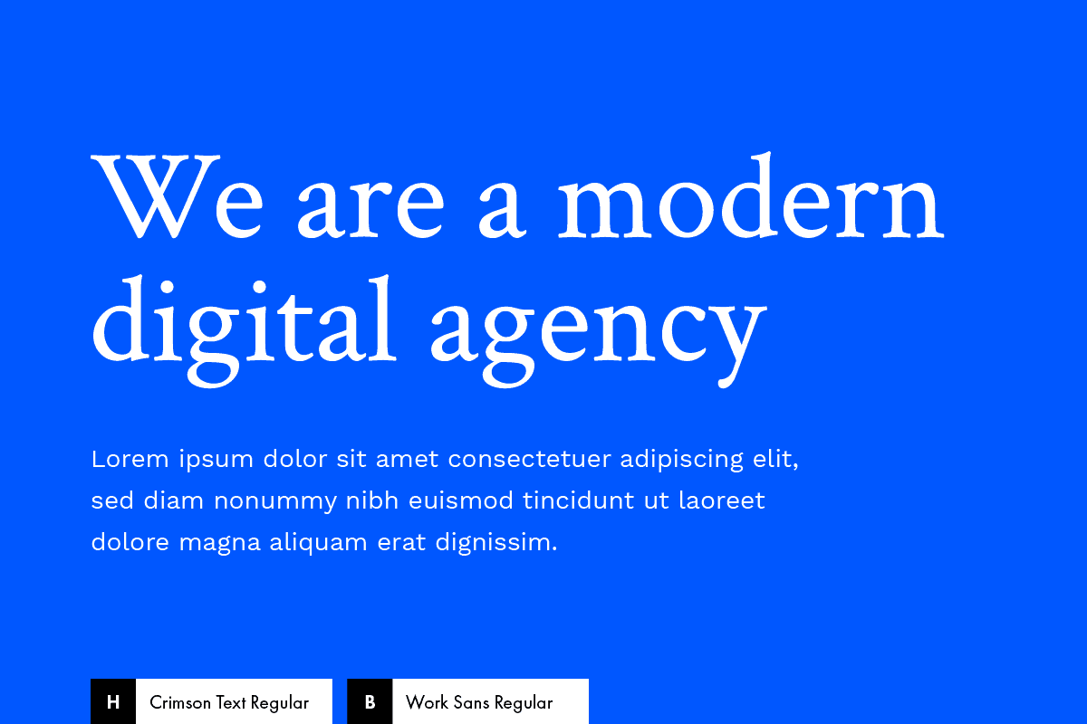 Best Google Fonts Combinations for a Modern Website