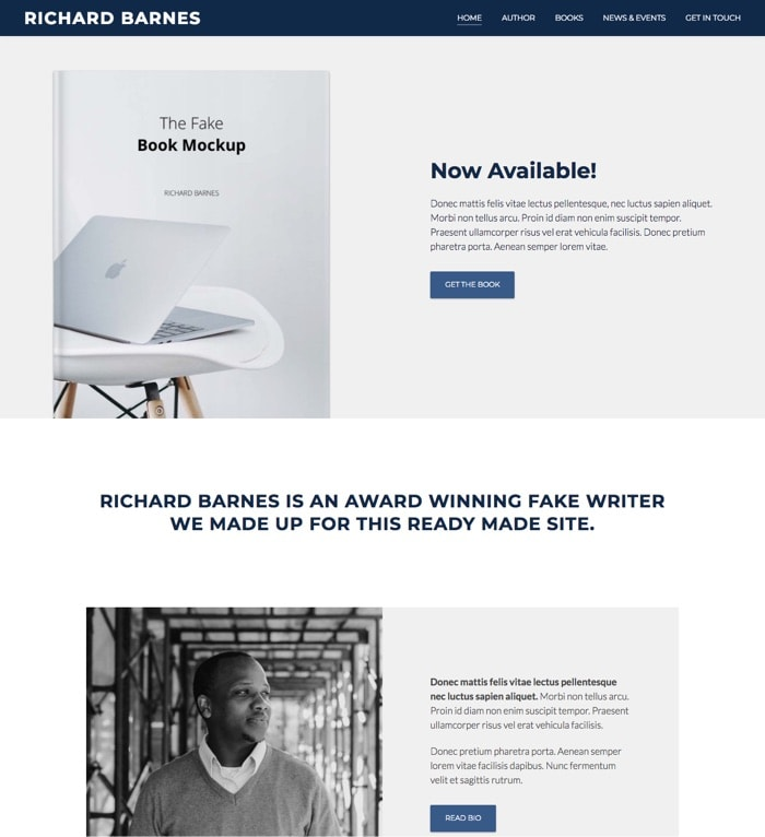 Author – By Modules WordPress Theme