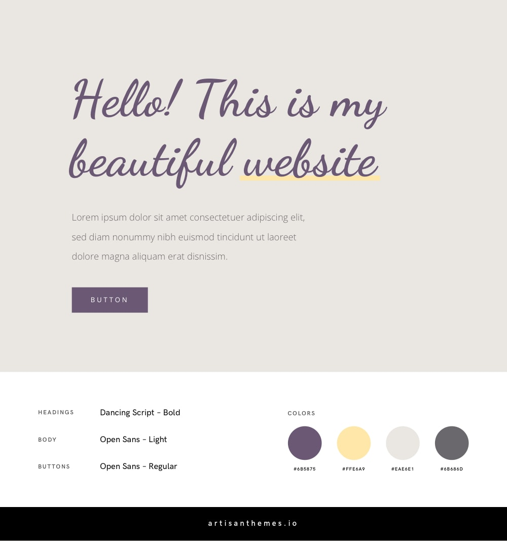 Best Google Font Combinations and Color Palettes for a