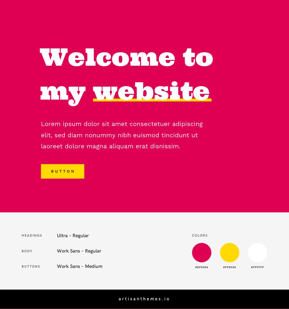 Best Google Font Combinations and Color Palettes for a Feminine Website